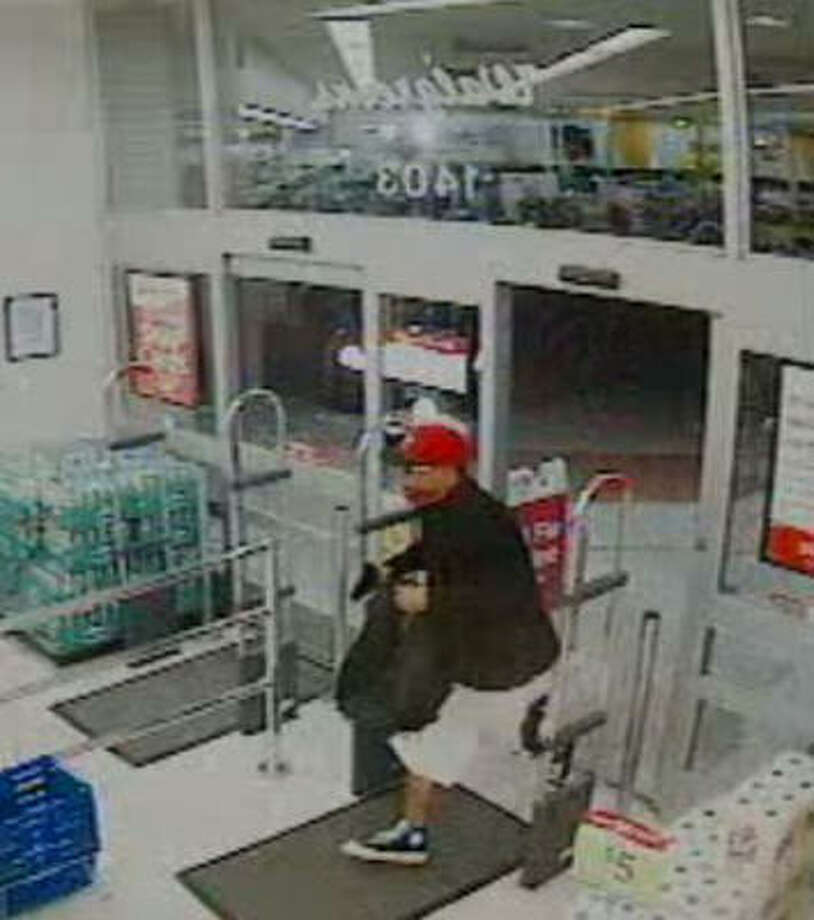 Suspect wanted in an aggravated robbery at a Walgreen's in the 1400 block of West FM 1960 on May 5. Photo: Harris County Sheriff's Office