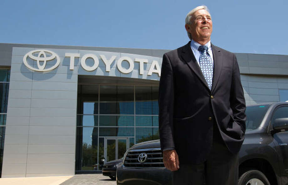 "Toby Hynes, president and general manager of Gulf States Toyota, says, ""Toyota customers have remained steadfastly loyal."" Photo: Nick De La Torre, Chronicle"