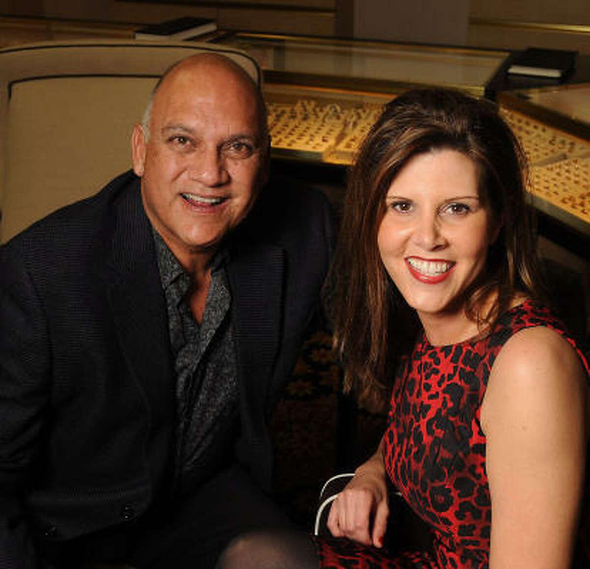 Fred Aguilar and Jennifer Miller