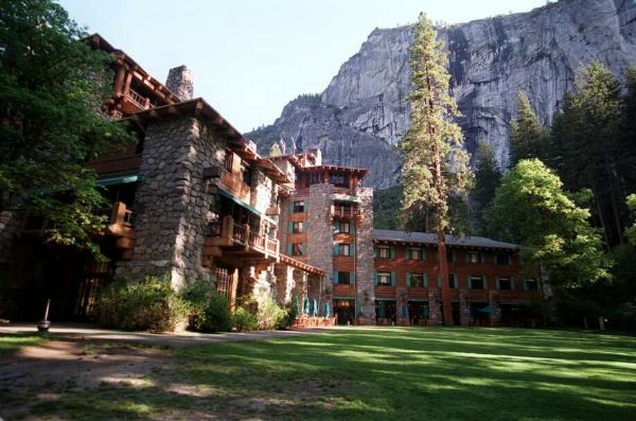 The Ahwahnee Hotel in Yosemite National Park opened in 1927. Photo: RON COBB, KRT