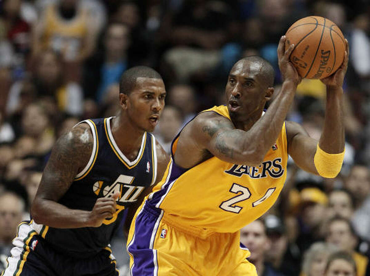 No. 1 L.A. LAKERS Nagging injuries and age might relegate Kobe Bryant to a below-the-rim player going forward, but he'll adapt and the defending champs are deeper after shoring up their one weakness by signing point guard Steve Blake.