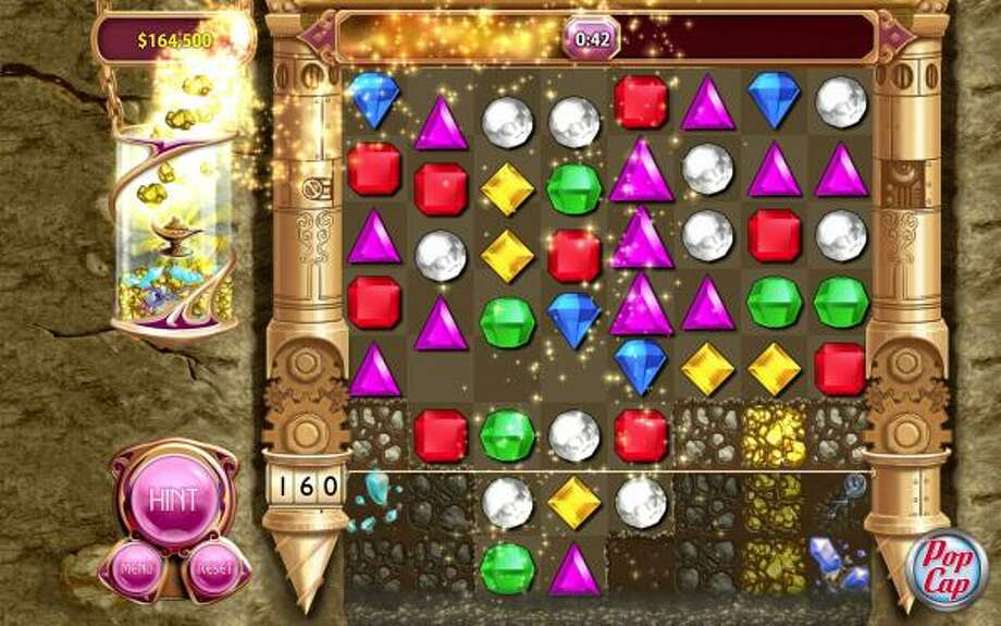 Diamond Mind, a new mode on Bejeweled 3, will keep you busy digging for shiny treasure. Photo: PopCap Games