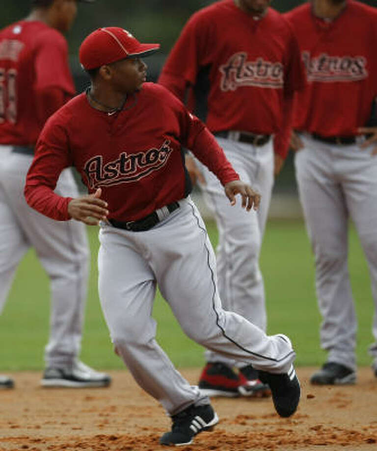 Astros lefthander Wesley Wright added a changeup to his repertoire this offseason. Photo: Julio Cortez, Chronicle