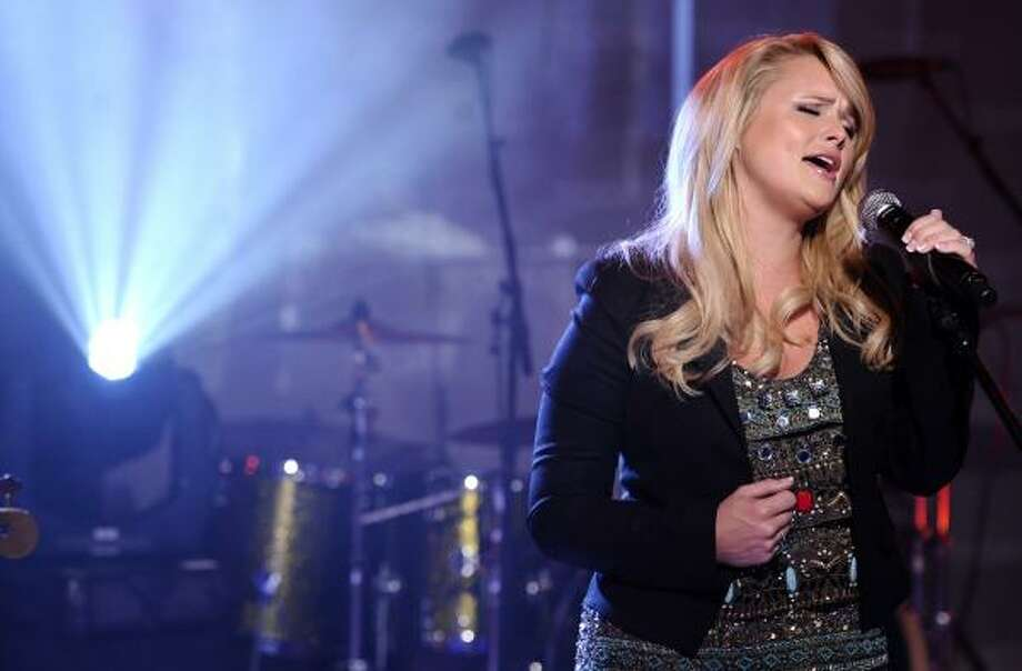 "Miranda Lambert received a Song of the Year nomination for ""The House That Built Me."" Photo: Peter Kramer, AP"