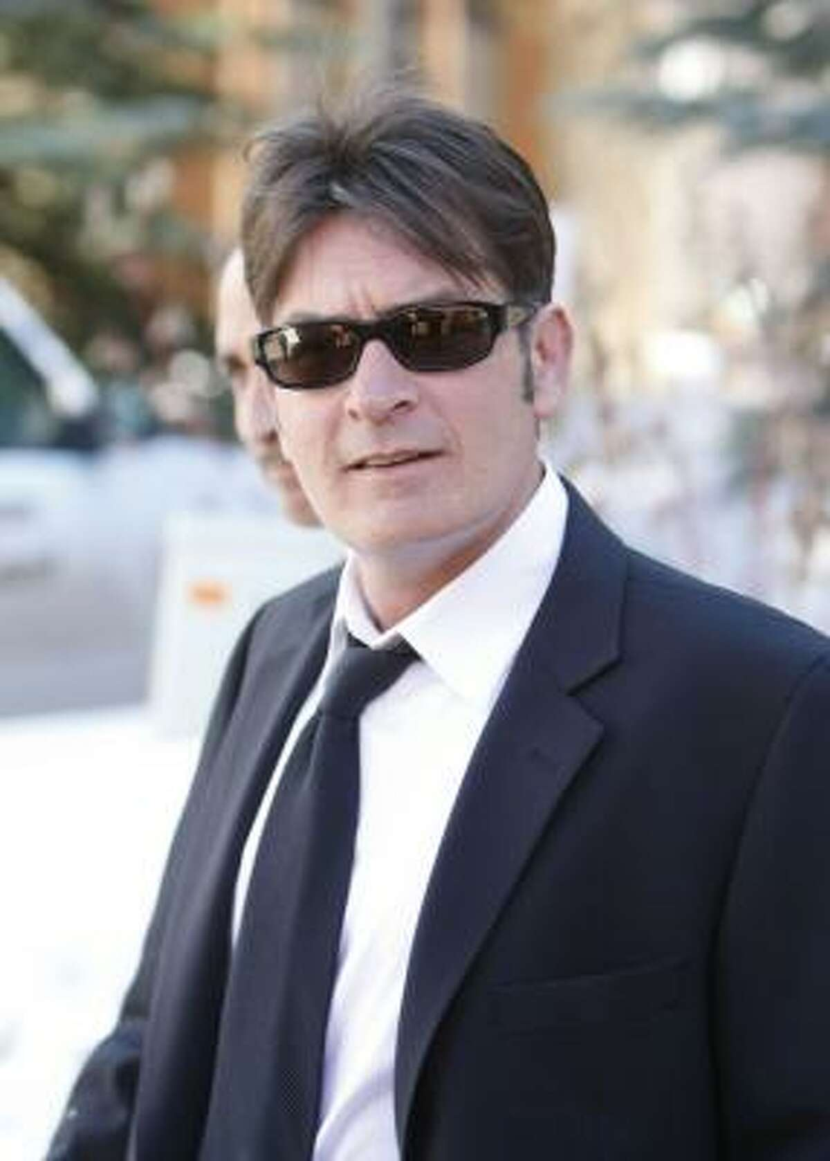 Charlie Sheen has had a busy year. He filed for divorce from third wife and mother to his twins, Brooke Mueller, after being charged with assault last Christmas. And he was found drunk and naked in a trashed hotel room while on vacation with his second wife Denise Richards and their two daughters.