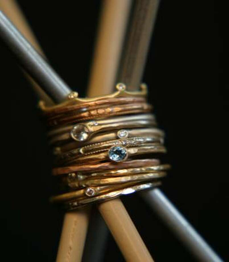 5 golden rings: $750 — no change. Photo: Rebecca Lankford