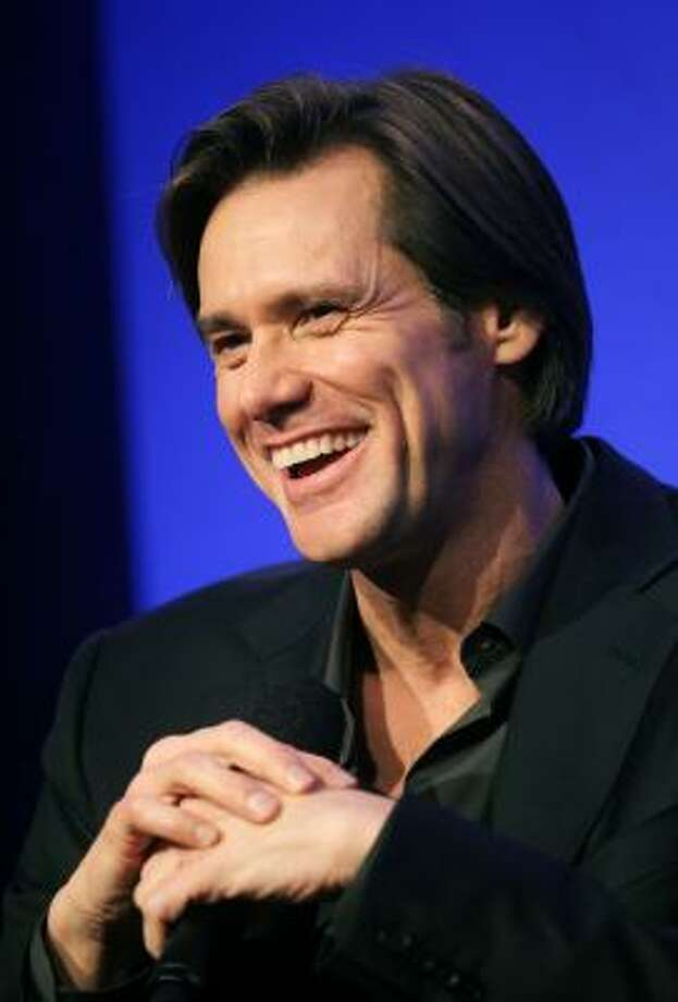 Clean-shaven Jim Carrey Photo: Mario Tama, Getty Images