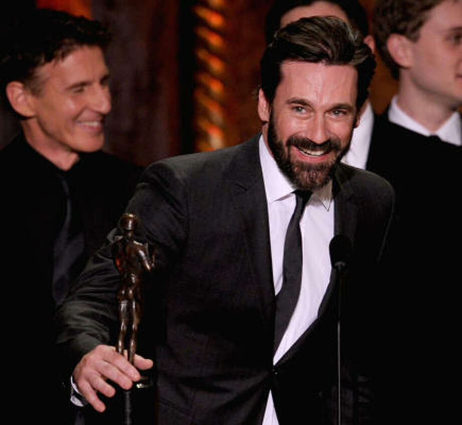 A hairier Jon Hamm Photo: Kevin Winter, Getty Images