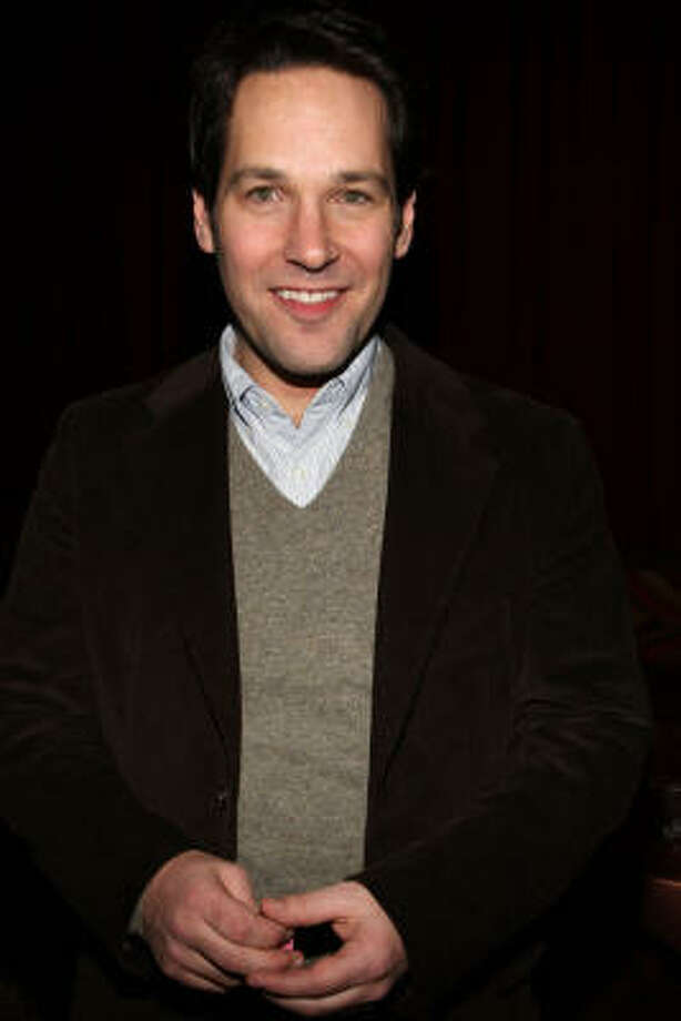 Paul Rudd, all trimmed up Photo: Bryan Bedder, Getty Images