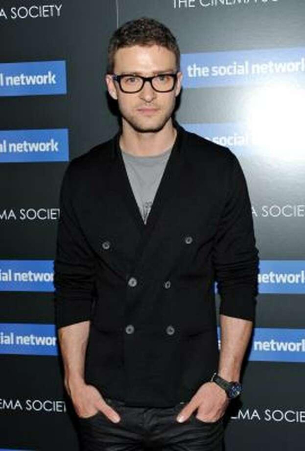 Justin Timberlake, clean-shaven again Photo: Evan Agostini, AP