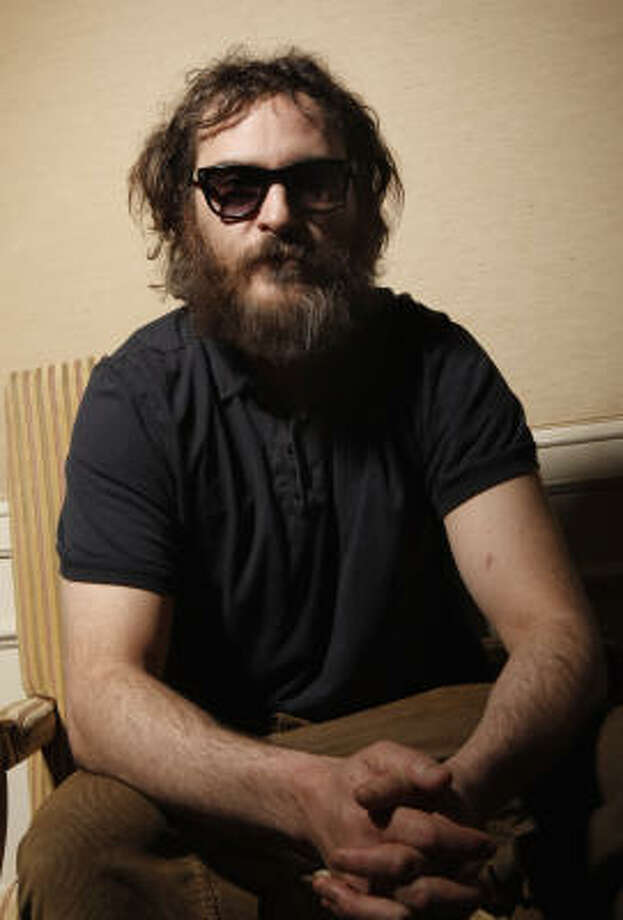 Joaquin Phoenix and the beard that confused us all Photo: Matt Sayles, AP