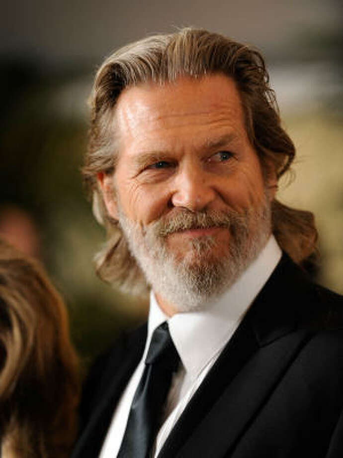"Jeff ""The Dude"" Bridges' signature beard getting whiter Photo: Kevork Djansezian, Getty Images"