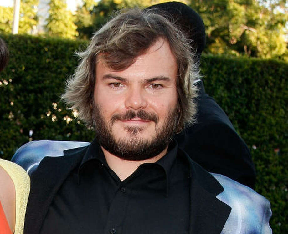 Jack Black letting his facial hair grow Photo: Kevin Winter, Getty Images