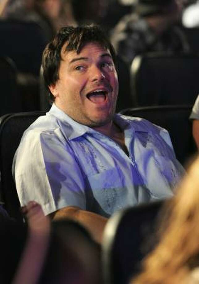 Bare-faced Jack Black Photo: Alberto E. Rodriguez, Getty Images