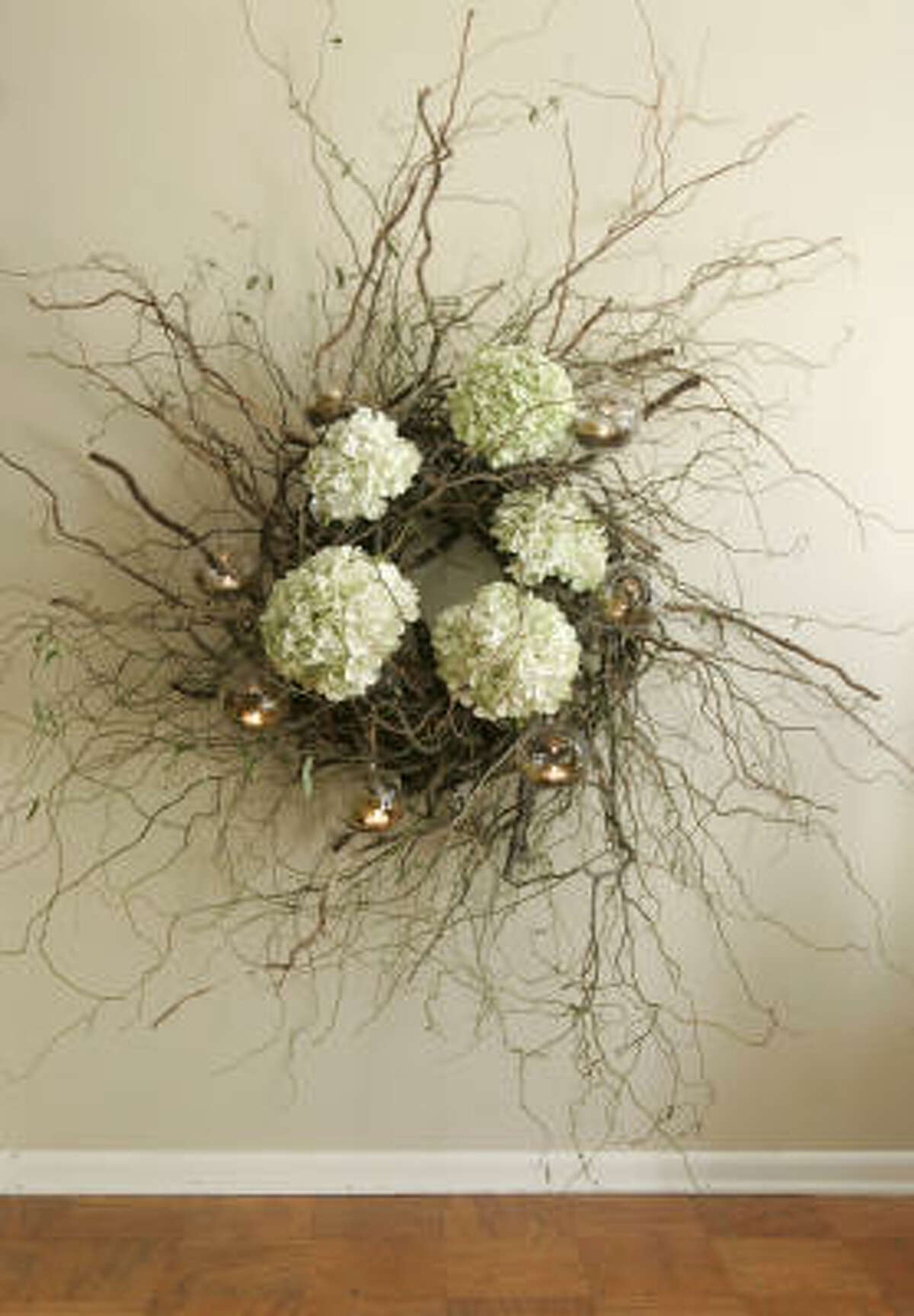 BUY: Professional florists design grander pieces to match home decor. (This one by Kenny Beall.)