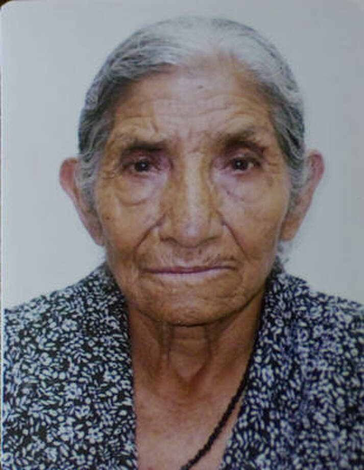 Copy of a family photo of Amantina Catalan, who was last seen in the 4100 block of Morning View about noon Sunday. Photo: Karen Warren, Chronicle