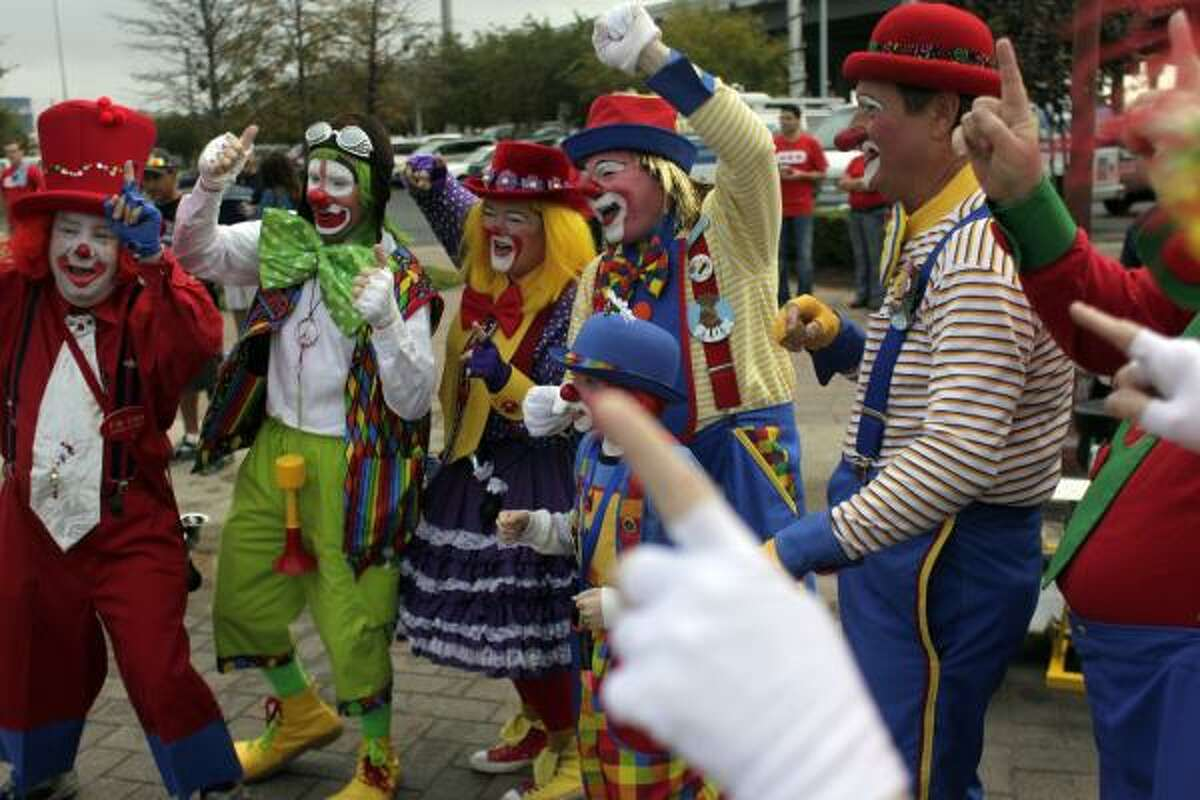 You can't have a parade without clowns.