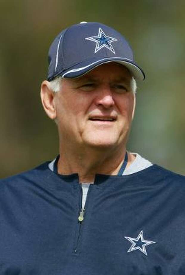 Cowboys head coach Wade Phillips knows what he's up against as the season kicks off Sunday. Photo: Jeff Gross, Getty Images