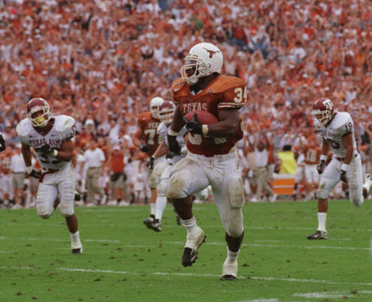 RUNNING BACK: Ricky Williams, Texas (20 votes)