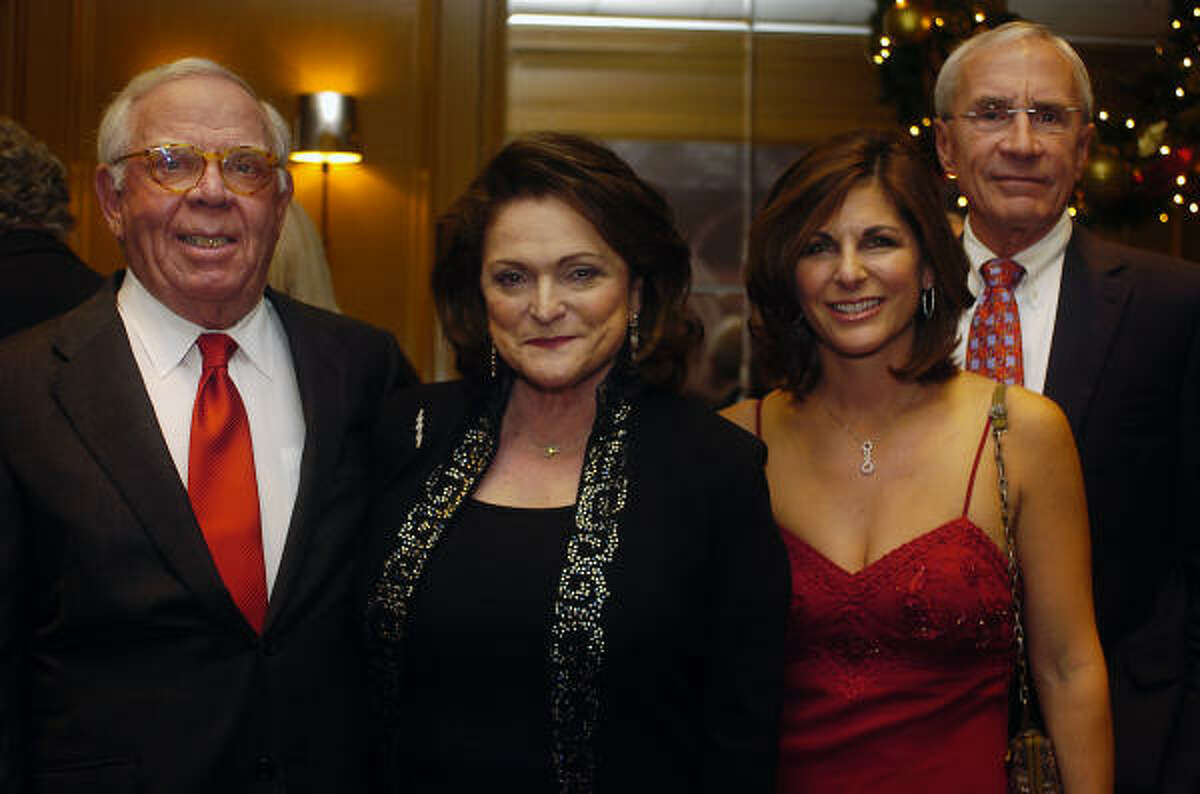 Alan Reid, his wife Beth Wolff, daughter Cynthia Peatross and son-in-law Bill Peatross