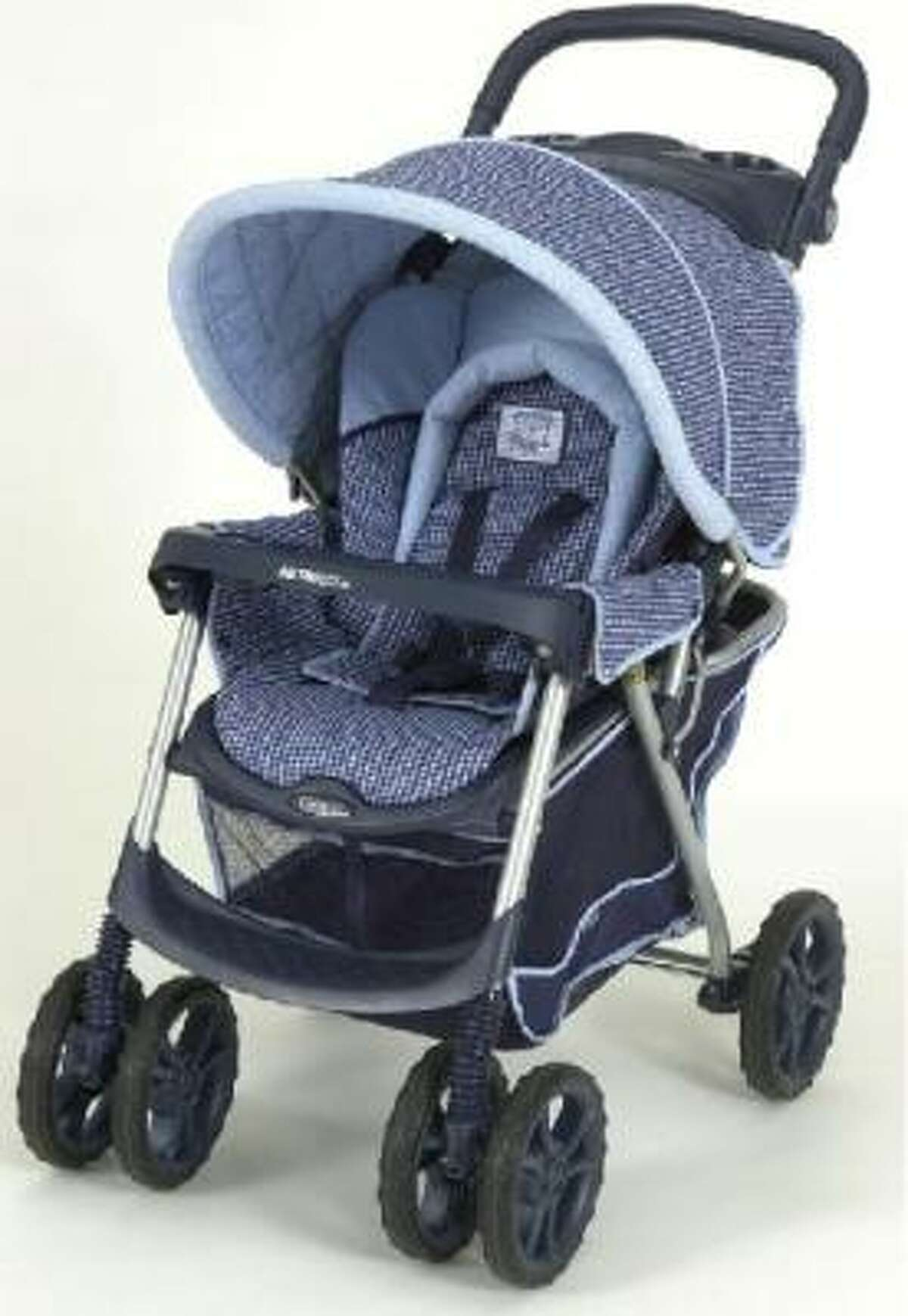 Recalled: 2 million Graco strollers due to risk of entrapment and strangulation. Injuries: Four infant strangulations, five reports of infants becoming entrapped, resulting in cuts and bruises, and one report of an infant having difficulty breathing. More information and models affected at CPSC web site