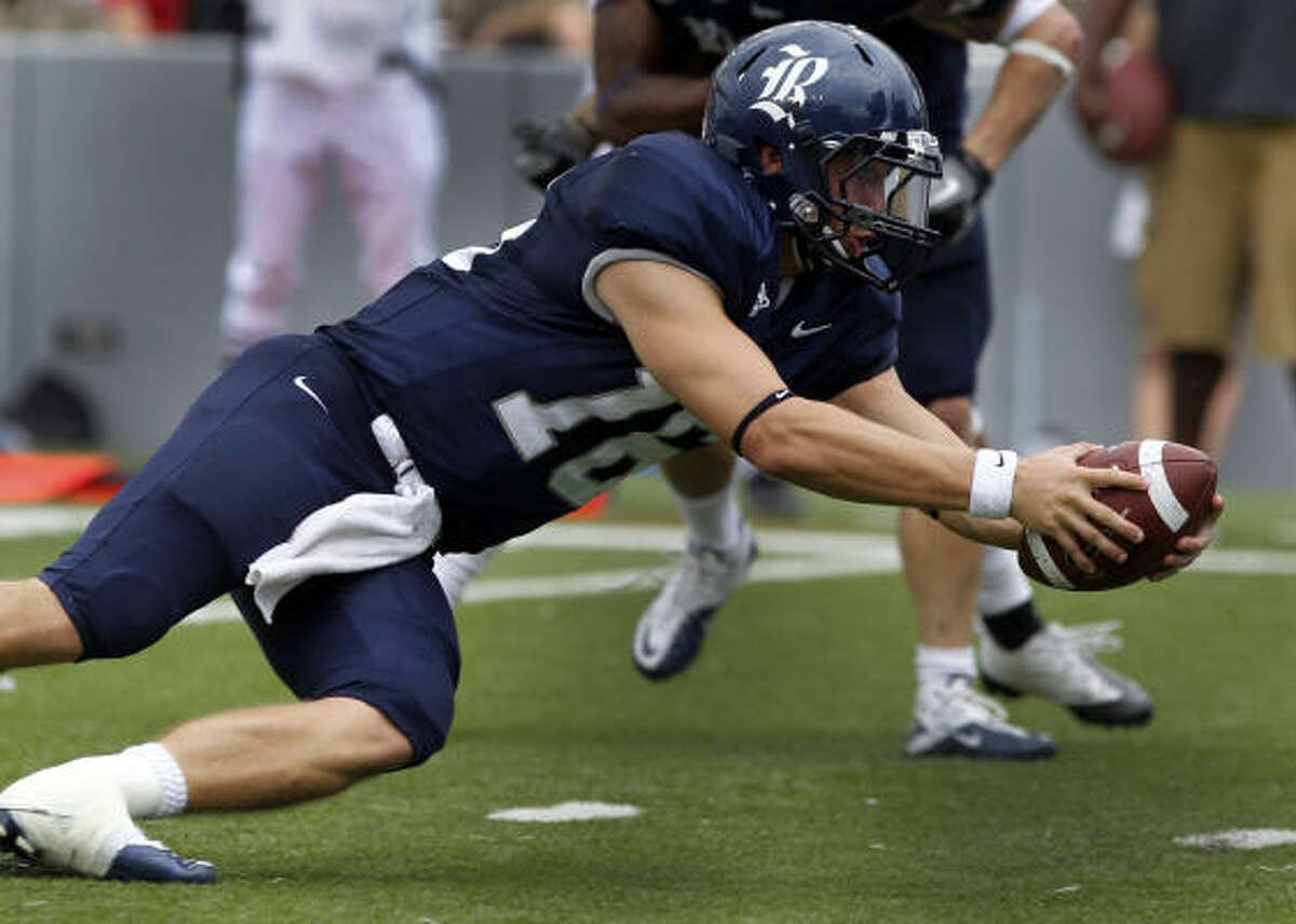 Taylor McHargue, back from missing most of the season with a shoulder injury, showed why he's considered the quarterback of the future.