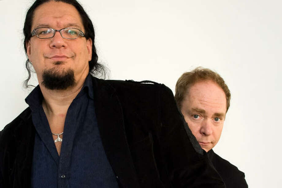 John Tyner isn't the first passenger to express outrage at TSA technique. Penn Jillette, left, of Penn & Teller called the police when airport security touched his crotch area during a pat down. Photo: Charles Sykes, AP