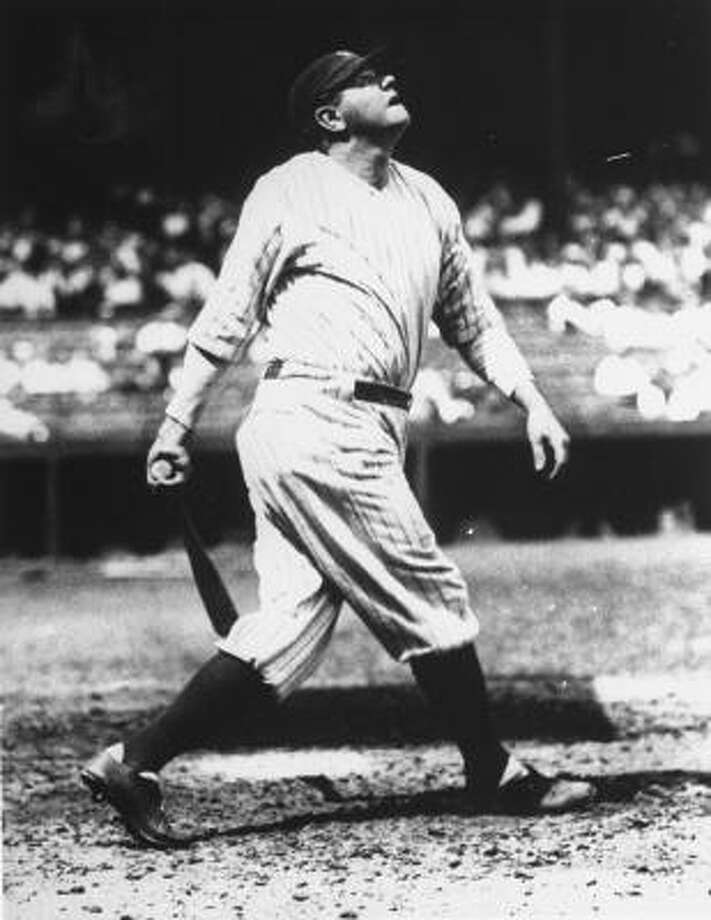 Babe Ruth bought this home in Sudbury, Mass. in 1922. He reportedly bought the home to reconciliation with his wife. He later sold the house after he divorced his wife in 1926. Photo: AP