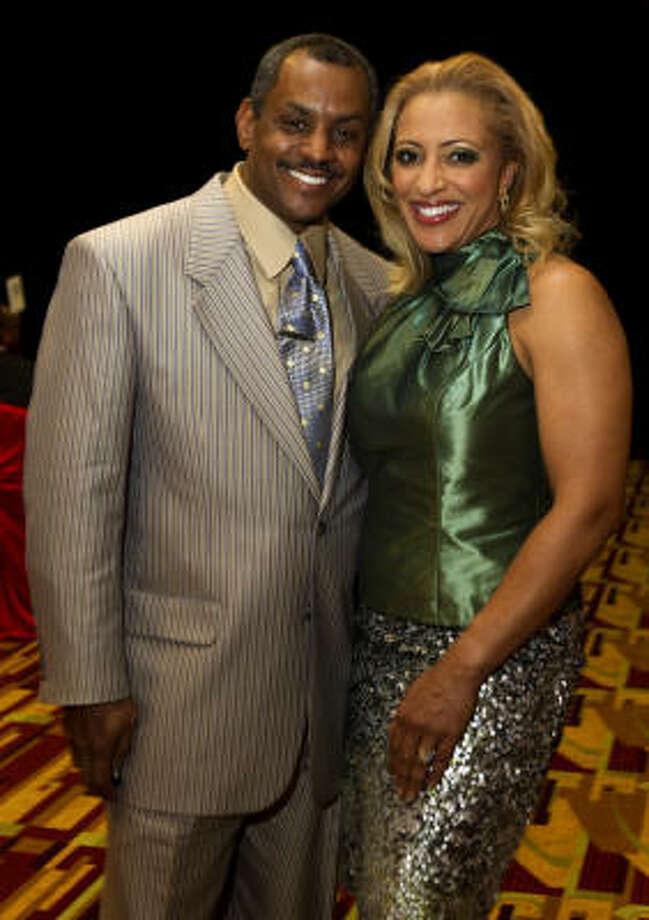 Remus Wright and Mia Wright Photo: Brett Coomer, Houston Chronicle