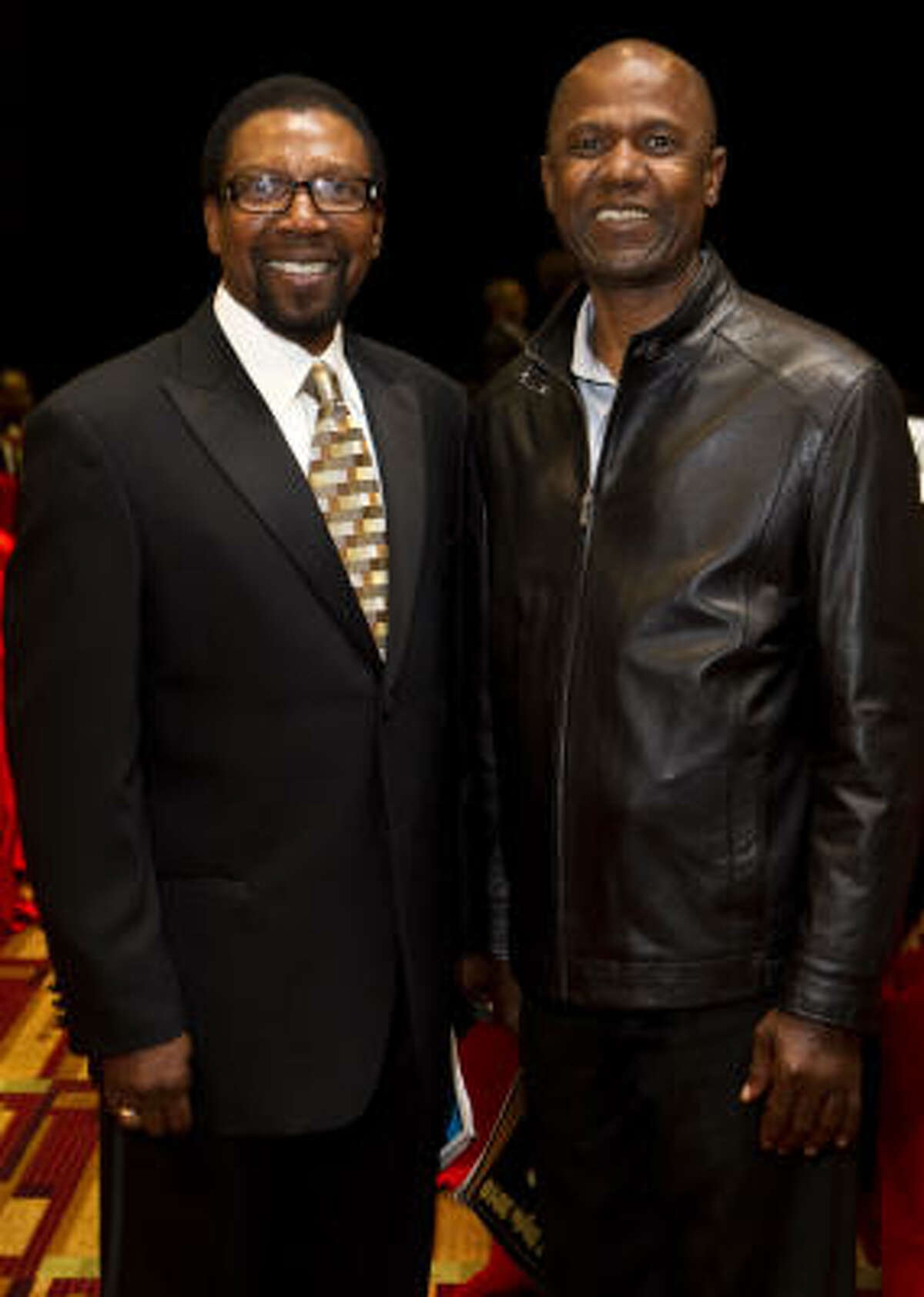 Dr. J. Thomas Smith and Godfrey Uduma