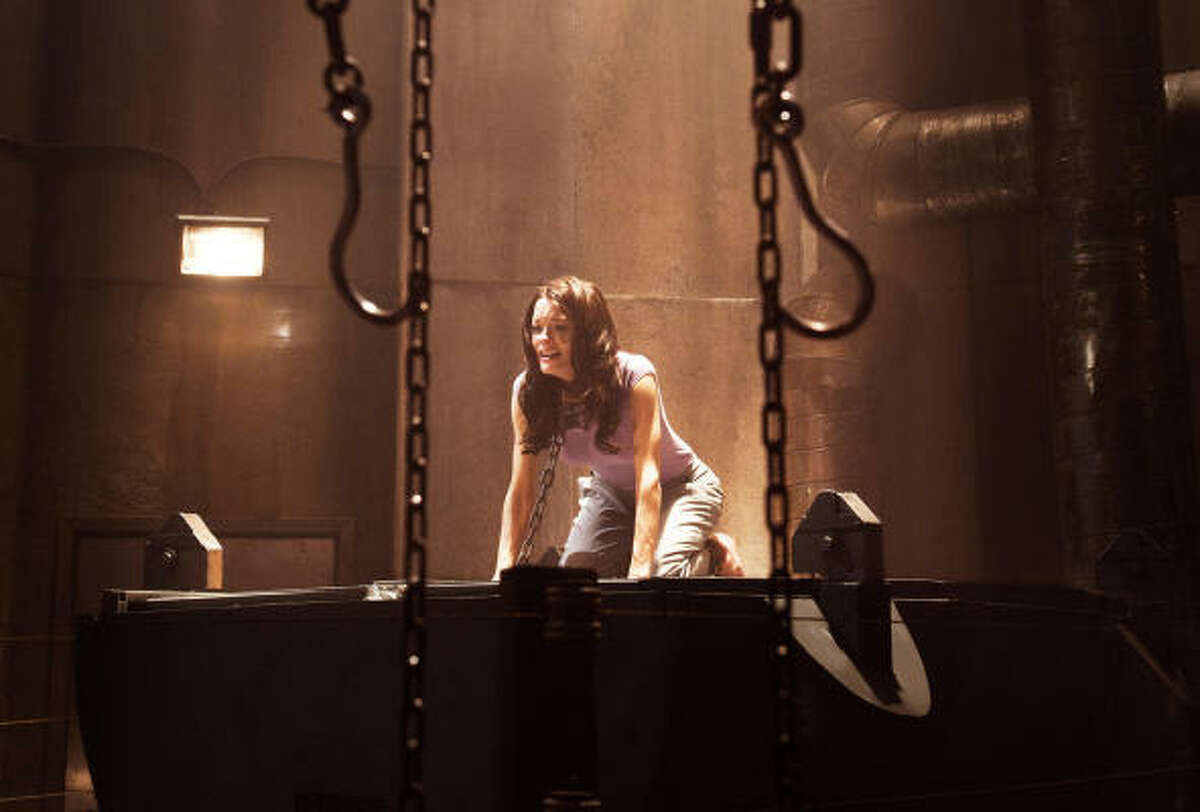 Saw 3D , $2.75 million: Jigsaw's legacy continues with another string of victims who are picked to play his twisted game. Co-starring Gina Holden.