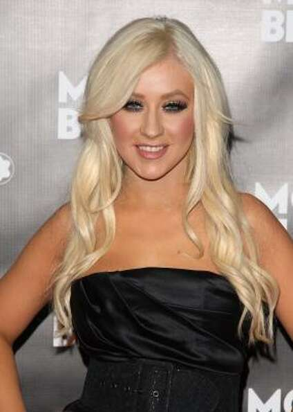 Christina Aguilera's nude all the time, all over the place. She's been nude on the cover of