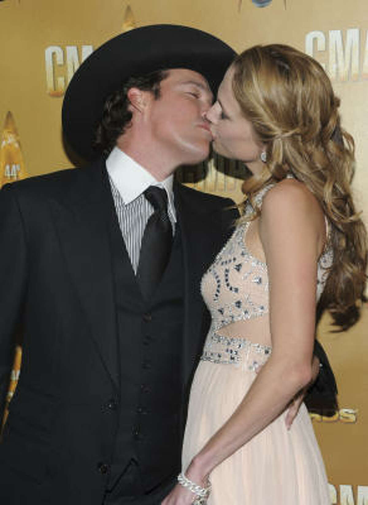 Singer Clay Walker and his wife, Jessica