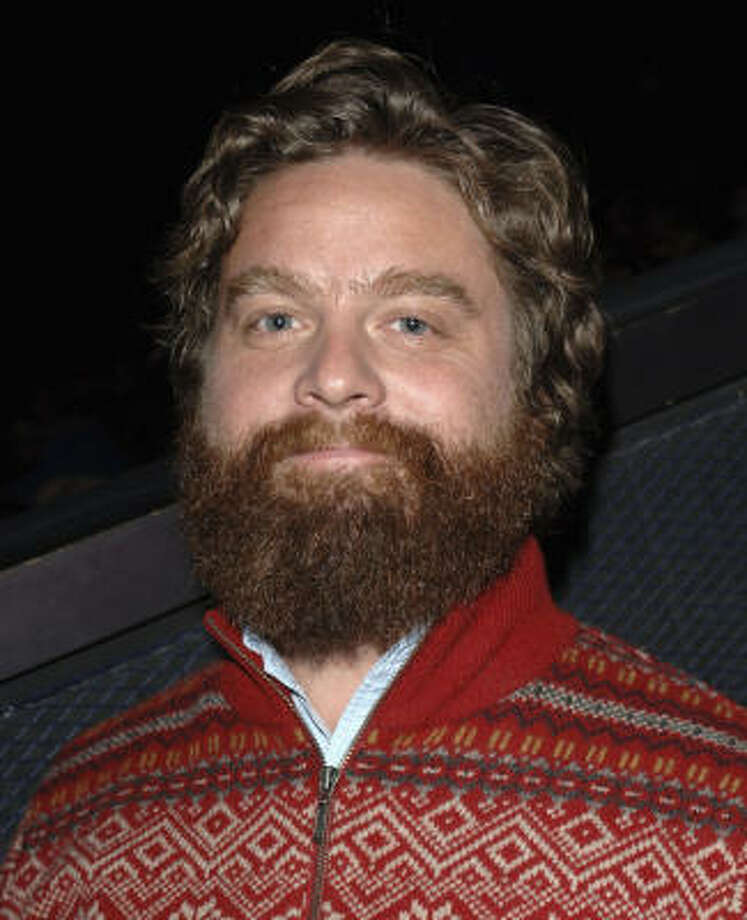 Zach Galifianakis lit up late-night TV when he proceeded to light up a joint on Bill Maher's TV show.  The subject of the show was marijuana legalization. See a video clip of the incident here. Photo: Stephen Shugerman, Getty Images