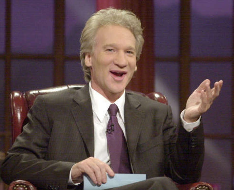 "While not participating in the impromptu Galifianakis ""puff, puff, pass"" on his show, Bill Maher has been a longtime legalization advocate. Photo: NICK UT, AP"