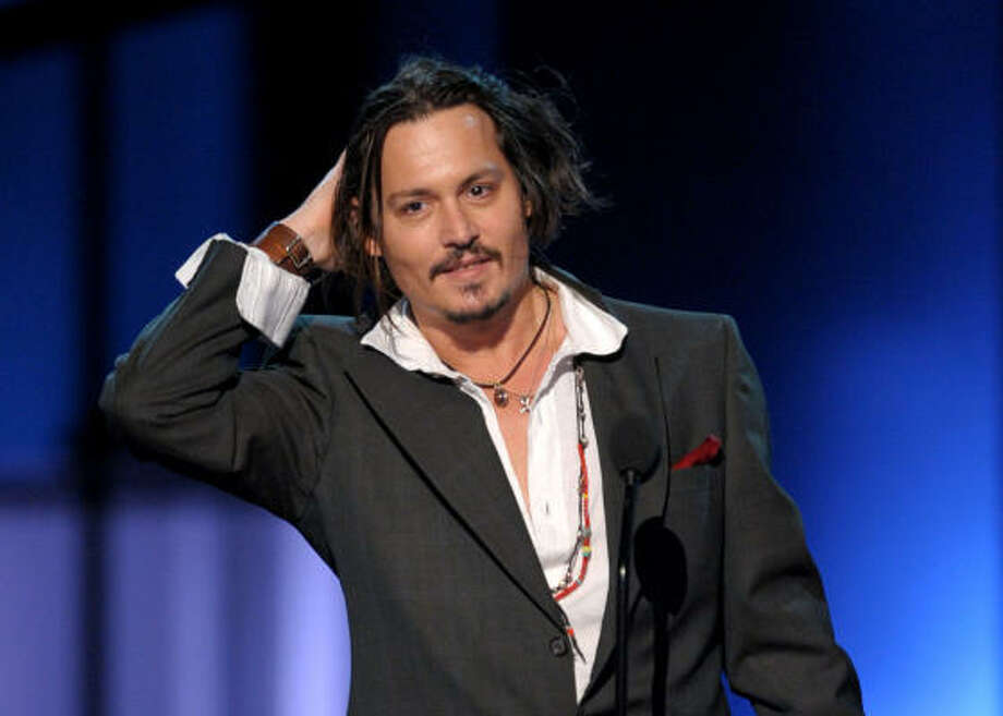 """Johnny Depptold GQ (and repeated the story to USA Today)he'd rather his kids try marijuana from him than getting something ilegally that """"could be laced with something."""" Photo: Kevin Winter, Getty Images For PCA"""
