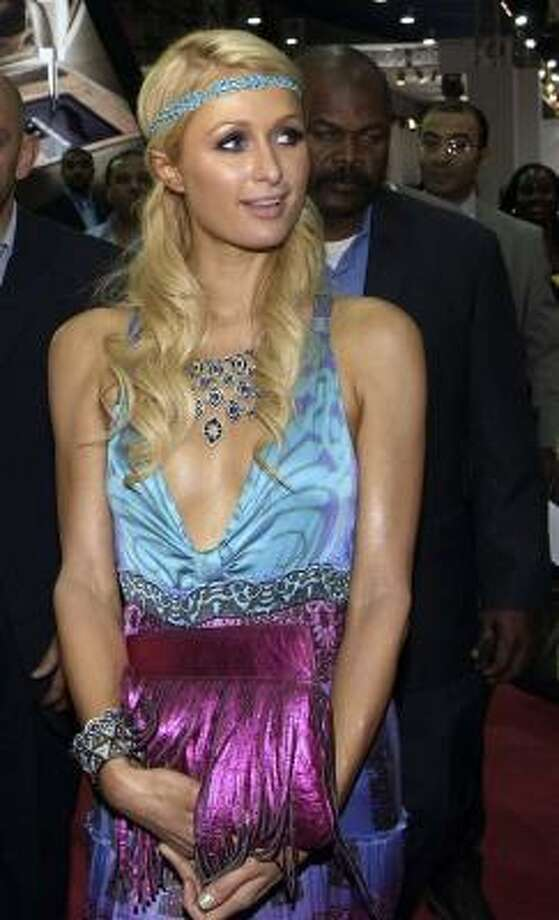 "Paris Hilton has been ""detained"" a few times for possessing weed. Photo: AP"