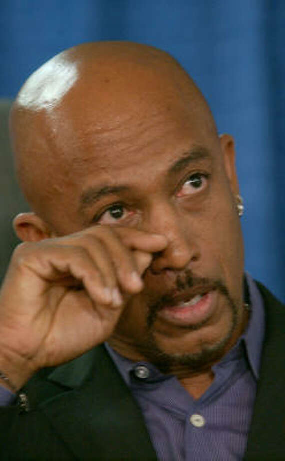 Montel Williams was diagnosed with the debilitating neurological disease multiple sclerosis in 1999, and threw his support behind legalizing medical marijuana. Photo: JIM MCKNIGHT, AP