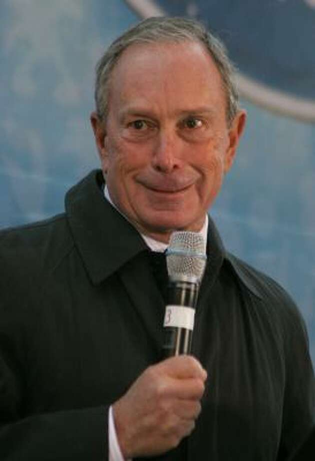 "New York Mayor Michael Bloomberg, when asked if he'd ever tried marijuana, responded by saying, ""You bet I did. And I enjoyed it.'' Photo: Janette Pellegrini, Getty Images"