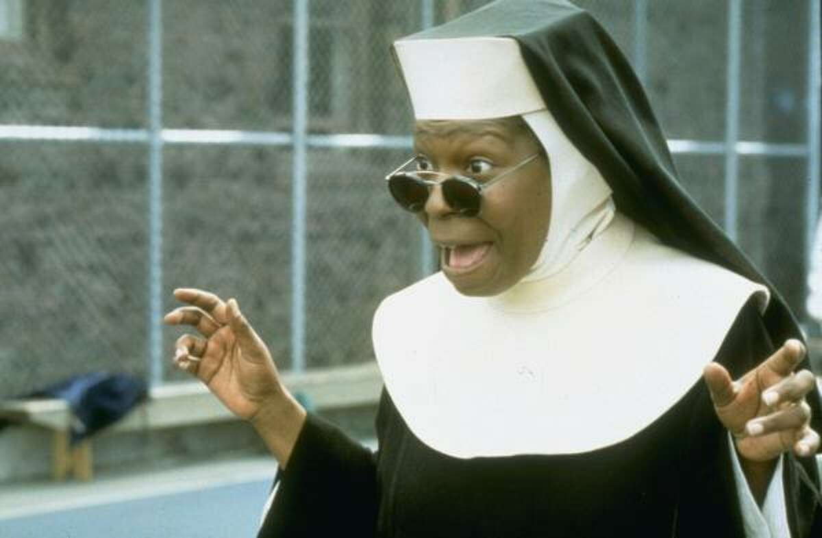 Sister Act and Sister Act 2: Back in the HabitWhoopi Goldberg as Sister Mary Clarence brings a lot of sass and singing to the convent.