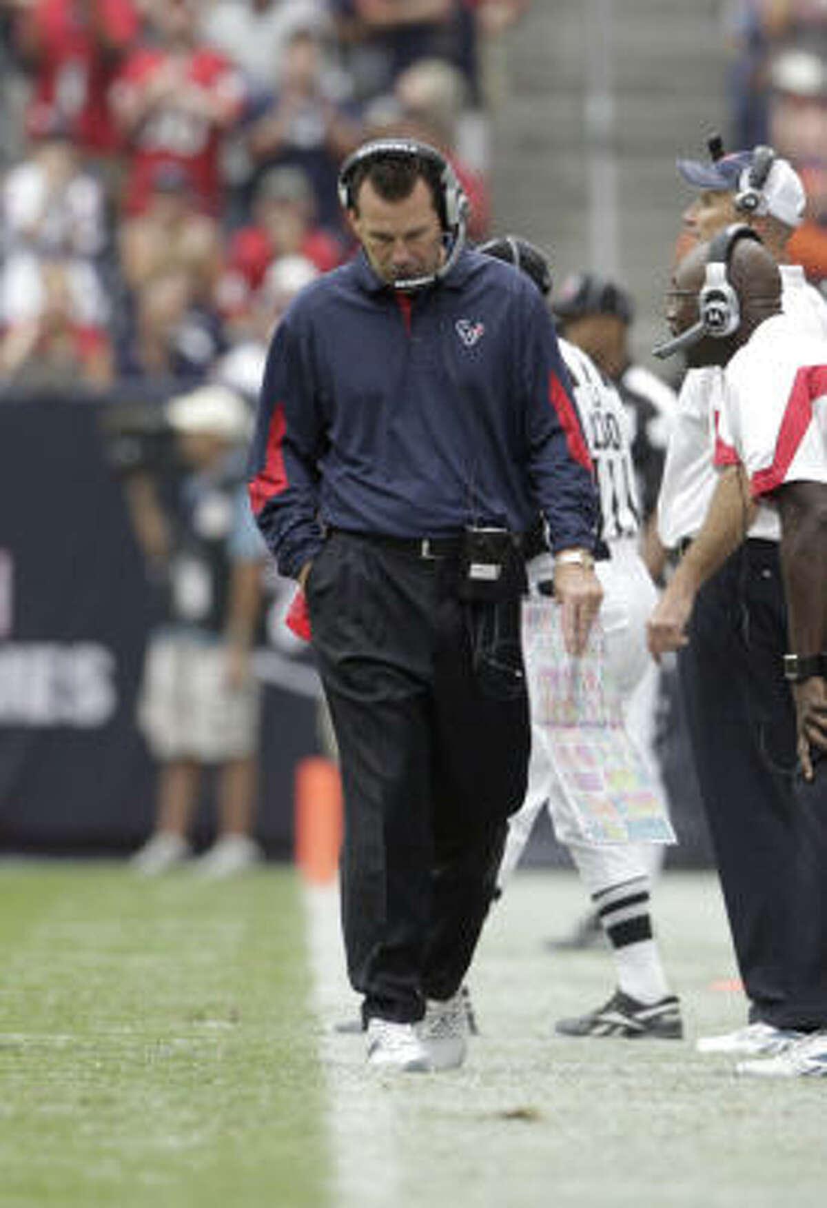 Texans vs. Cowboys Sept. 26: 27-13 loss McClain's grade: F Fans' grade: F