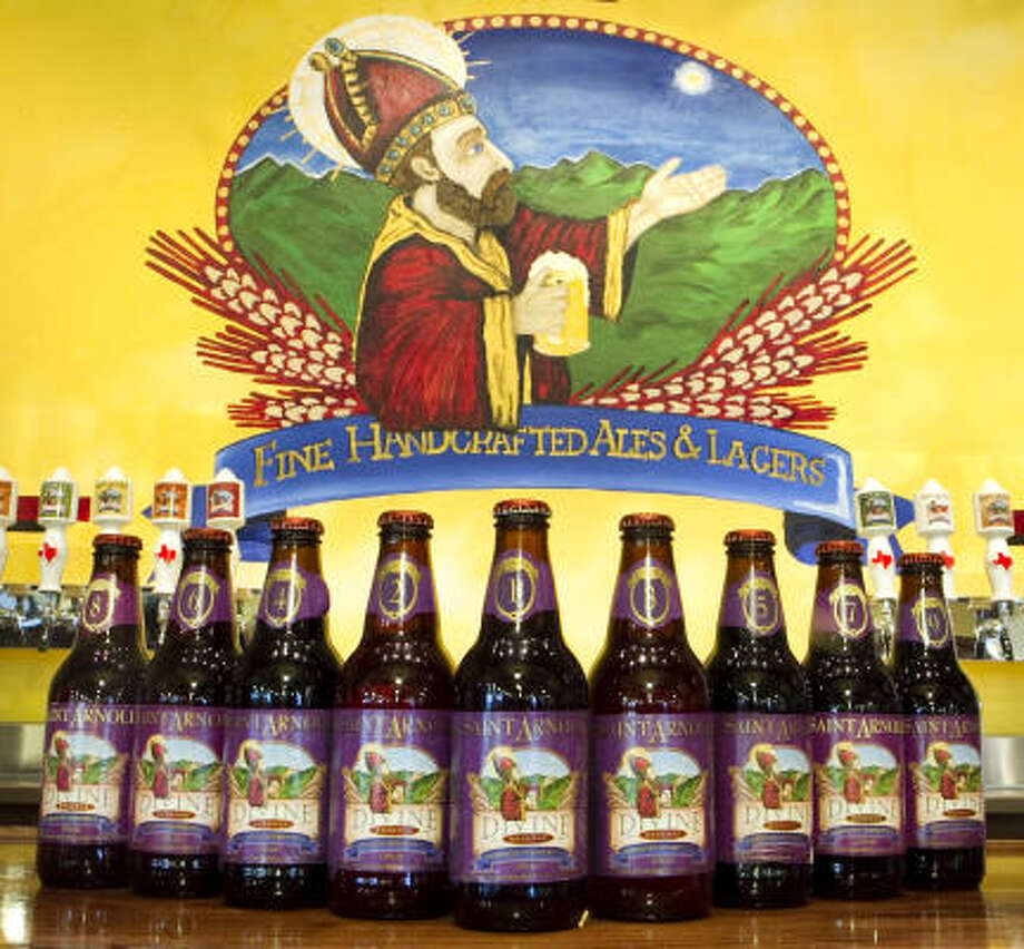 Saint Arnold Brewing Company, Houston This brewery is named for Saint Arnold or Arnulf of Metz. He is the patron saint of  brewers. Photo: Brett Coomer, Chronicle