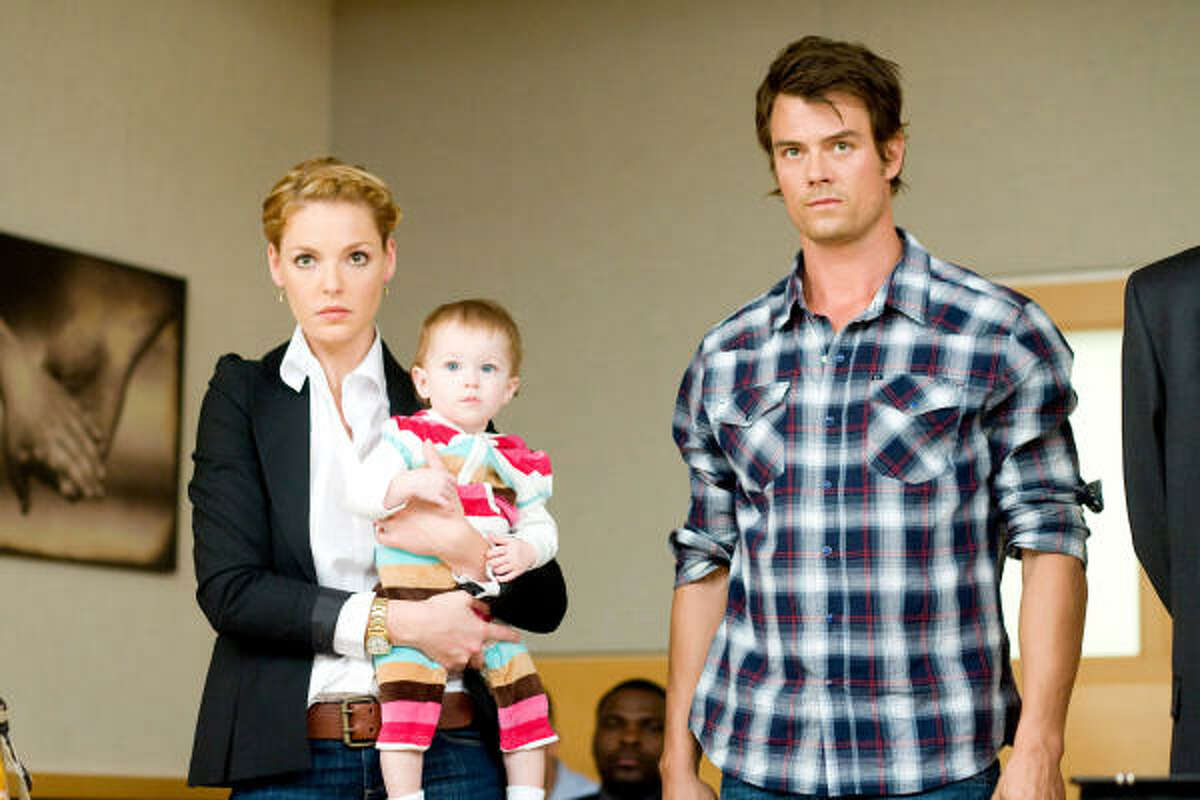 Life as We Know It , $4 million: Two singles, played by Katherine Heigl and Josh Duhamel, are pushed toward each other after their friends die and name them their daughter's caregivers.
