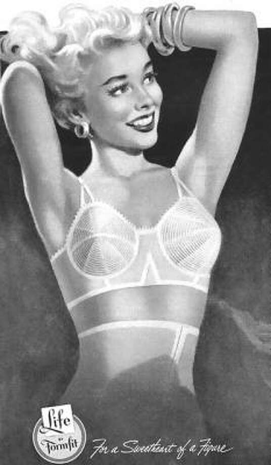 But ideas on beauty bras weren't always about jewels. Sometimes they were about shape, like the '50s-'60s cone bras. Photo: X-ray Delta One/James Vaughan, Flickr