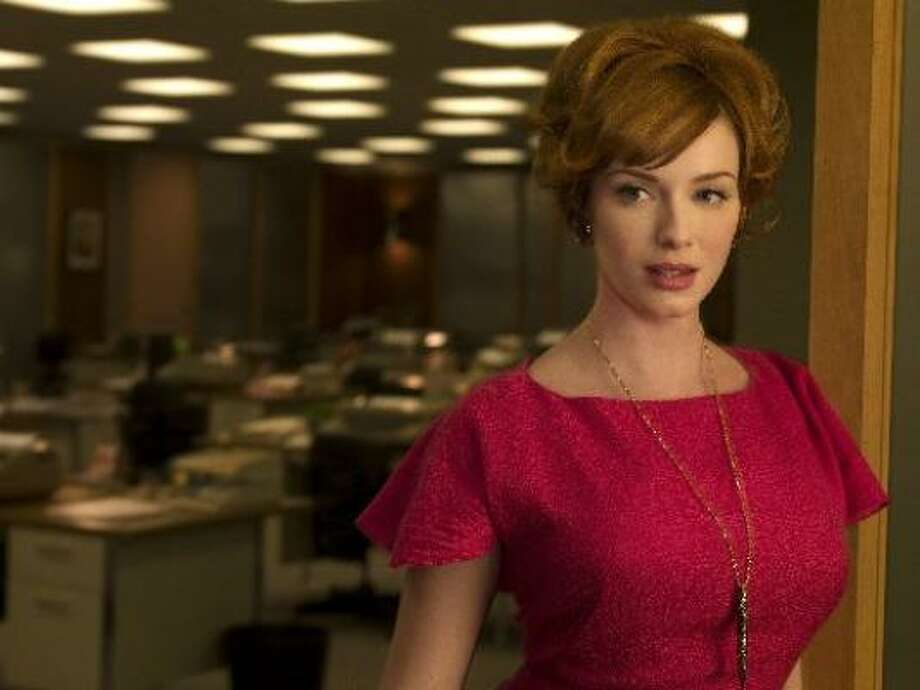 The cone bra is even finding a resurgence in modern fashion, thanks to the hit TV show Mad Men. Photo: AMC