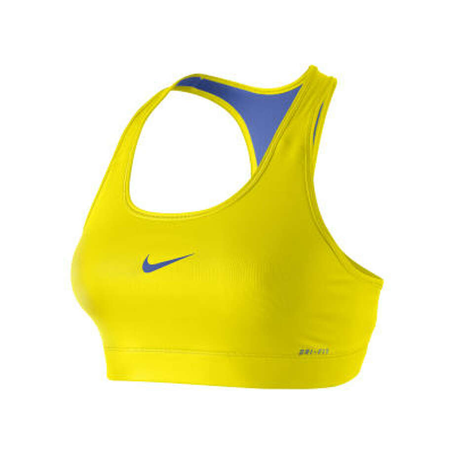 Sport bras allowed active women a bit more freedom. The basic design was invented in 1977. Photo: Nike
