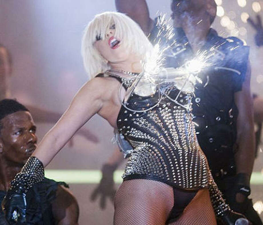 "Of course, it is possible to take the whole 'Bra burning"" concept a little too far. Take note, Lady GaGa. Photo: AP"