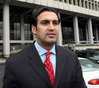 "Dr. Sandeep Kapoor, Howard K. Stern and psychiatrist Khristine Eroshevich were on trial on drug conspiracy charges related to Anna Nicole Smith's death. The three had already denied earlier charges of funneling drugs to Smith, who died in February 2007 from an accidental overdose aged 39. Prosecutors said Stern, Kapoor and Eroshevich ""repeatedly and excessively"" provided Smith with prescription drugs prior to her death. Photo: Nick Ut, AP"