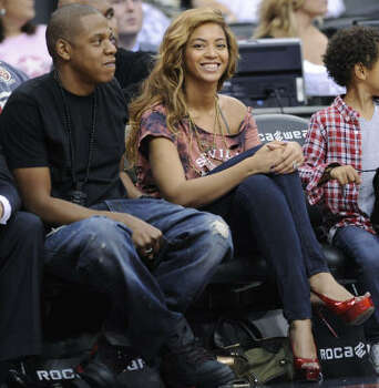 Beyonce pregnancy rumors are so popular there's a web site: beyoncepregnant.com. But husband Jay-Z says, no. Photo: Bill Kostroun, AP