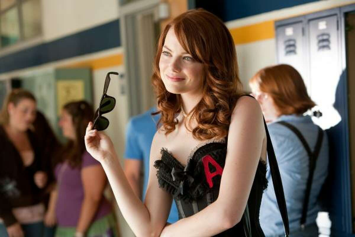 Easy A, $1.8 million: A high school girl pretends to sleep around to boost her popularity. Emma Stone stars.